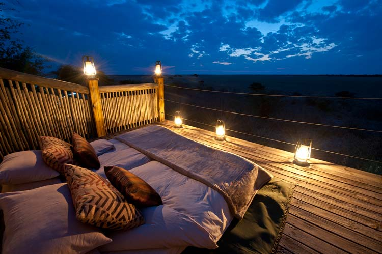 Most Romantic: Kalahari Plains Camp