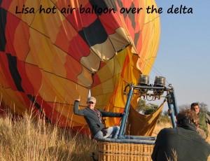 Lisa hot air balloon delta 2