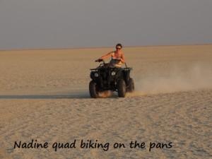 Nadine quad biking 2