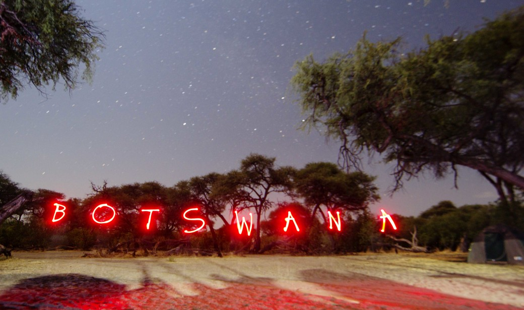 Botswana up in lights