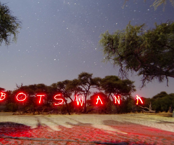 Botswana up in lights