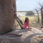 Gaba at Baines Baobabs in Nxai Pan National Park