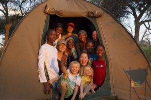 Safari Specialists on safari