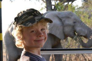 Game drive family safari