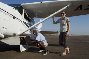 light aircraft, safari, botswana, maun