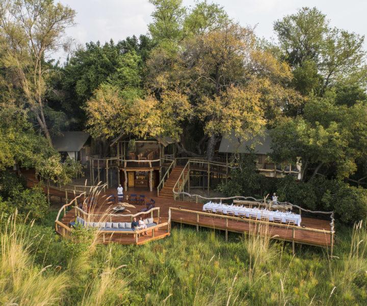 Main Area shinde botswana safari specialists