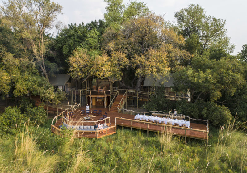 Main Area shinde botswana safari specialists