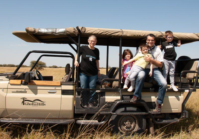 Safari Specialists Botswana game drive Ghoha Hills