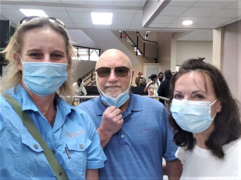 Safari Specialists Maun Airport masks